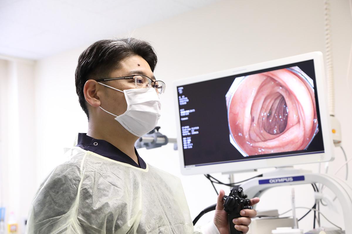 2、内視鏡専門医による精度の高い大腸カメラ検査