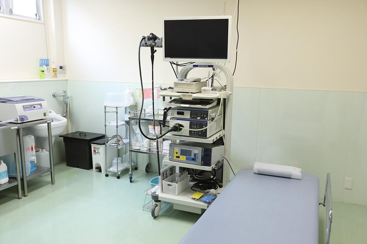 3、高精度な内視鏡検査システムを導入