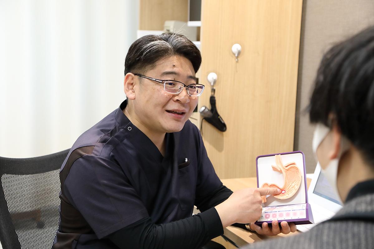 3、内視鏡専門医による精度の高い胃カメラ検査