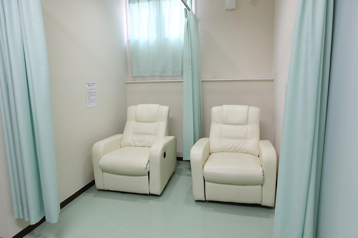 内視鏡検査準備室